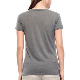 Icebreaker Tech Lite Highlands t-shirt Dames grijs